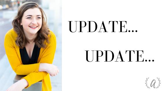 Update…Update…