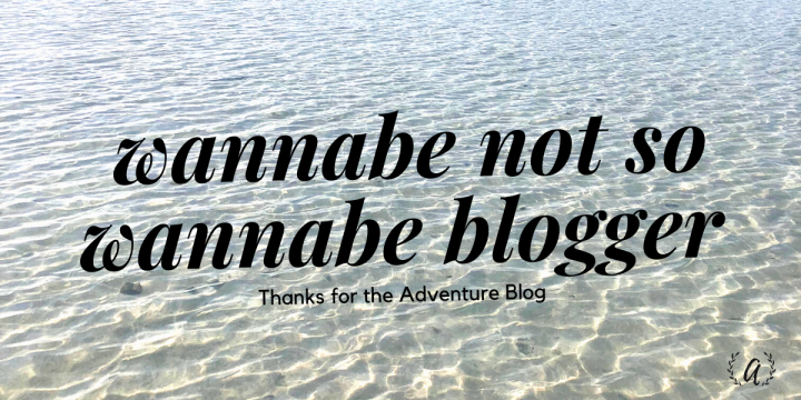 Thoughts by a Wannabe Not So Wannabe Blogger